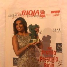 Libros: REVISTA DE RIOJA CON EVA LONGORIA. Lote 77101983