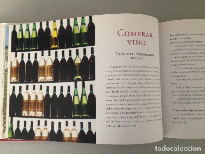 Libros: EL LIBRO DE ORO DEL VINO EN ESPAÑA, editorial Carroggio - Foto 2 - 76876895