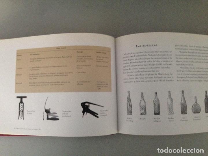 Libros: EL LIBRO DE ORO DEL VINO EN ESPAÑA, editorial Carroggio - Foto 3 - 76876895