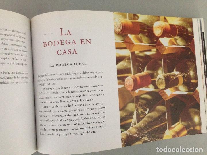 Libros: EL LIBRO DE ORO DEL VINO EN ESPAÑA, editorial Carroggio - Foto 4 - 76876895