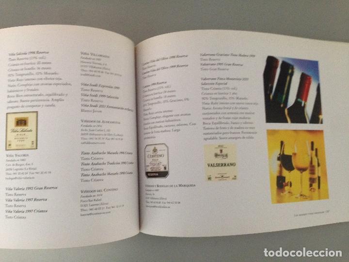 Libros: EL LIBRO DE ORO DEL VINO EN ESPAÑA, editorial Carroggio - Foto 6 - 76876895