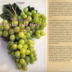 Libros: UNWIN, TIM. EL VINO Y LA VIÑA. GEOGRAFÍA HISTÓRICA DE LA VITICULTURA Y EL COMERCIO DEL VINO. 2001.. Lote 108877327
