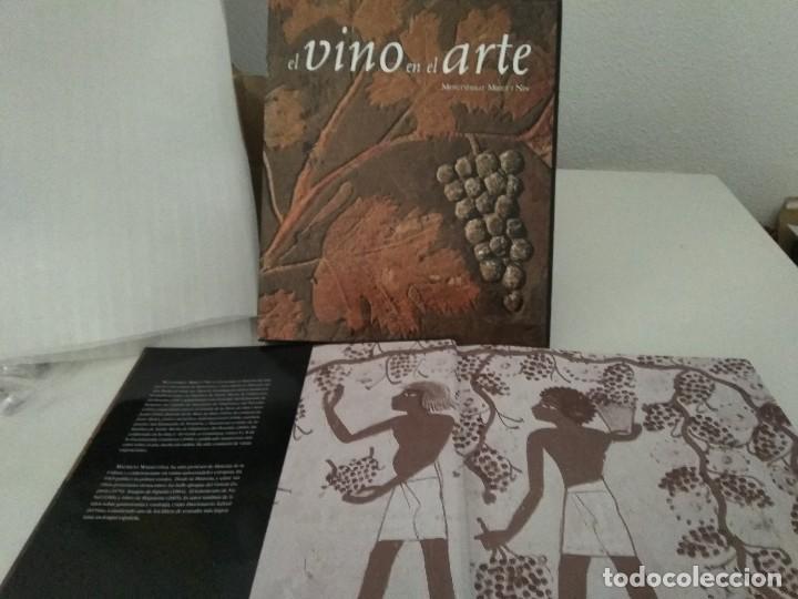 LIBRO EL VINO EN EL ARTE. (Libros Nuevos - Ocio - Vinos)