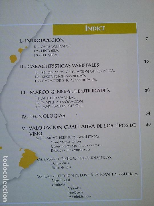 Libros: EL VINO DE MOSCATEL EN LA COMUNIDAD VALENCIANA. - Foto 2 - 61615528