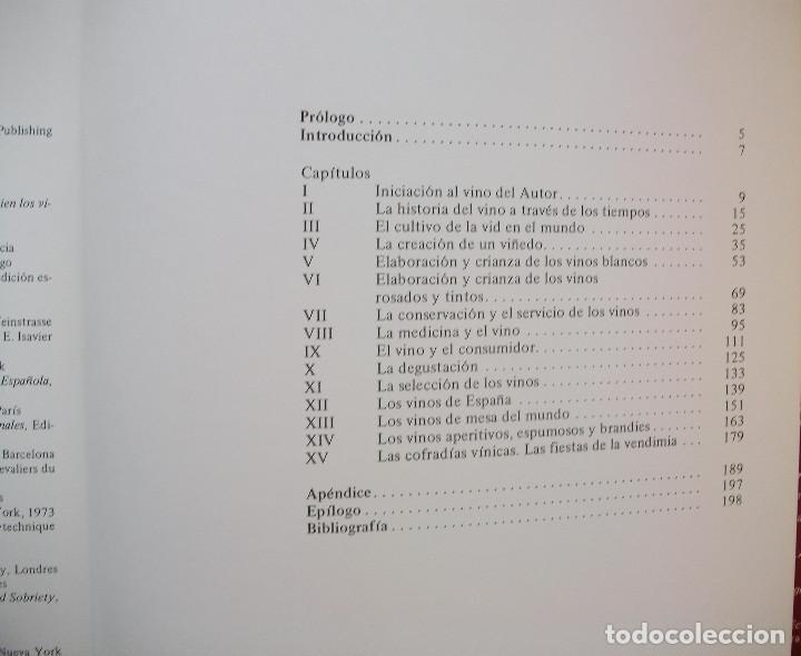 Libros: VIÑAS Y VINOS. MIGUEL A. TORRES. - Foto 4 - 133426242