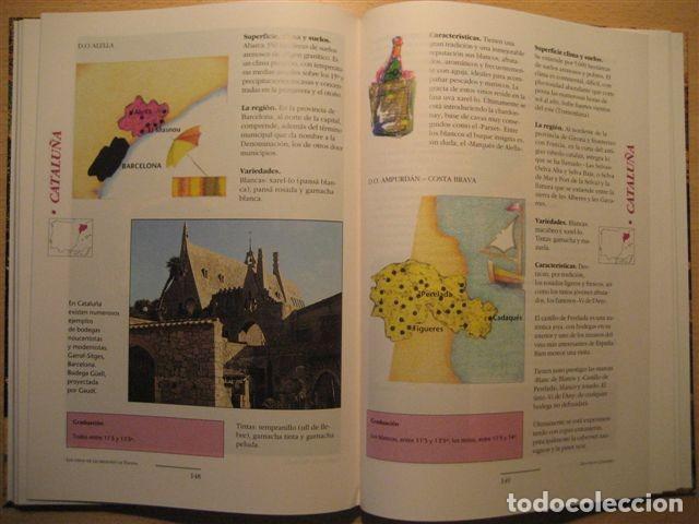 Libros: LIBRO SOBRE LOS VINOS DE ESPAÑA (Pedro Plasencia - Teclo Villalón) - Foto 5 - 135664299