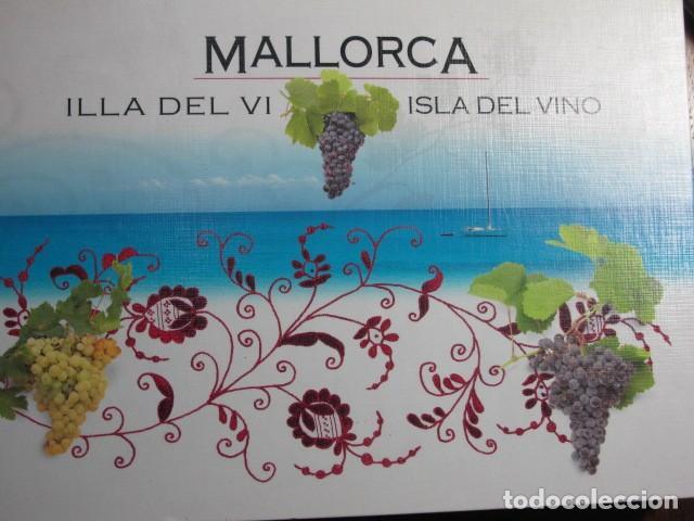 MALLORCA ILLA DEL VI. ISLA DEL VINO. 9 BODEGAS DE MALLORCA. GOVERN DE LES ILLES BALEARS, 2006 (Libros Nuevos - Ocio - Vinos)