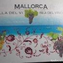 Libros: MALLORCA ILLA DEL VI. ISLA DEL VINO. 9 BODEGAS DE MALLORCA. GOVERN DE LES ILLES BALEARS, 2006. Lote 152816902