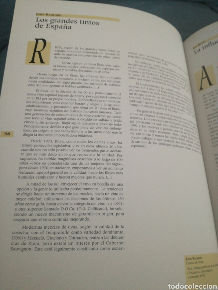 Libros: Arte y Cultura del vino de Rioja - Foto 2 - 159414838