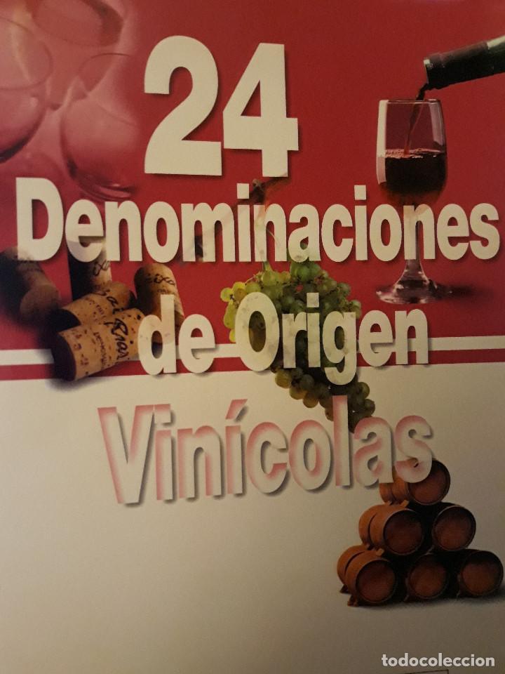 24 DENOMINACIONES DE ORIGEN VINÍCOLAS. BARTOLOMÉ SÁNCHEZ MARTINEZ. (Libros Nuevos - Ocio - Vinos)