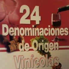 Libros: 24 DENOMINACIONES DE ORIGEN VINÍCOLAS. BARTOLOMÉ SÁNCHEZ MARTINEZ.. Lote 160051562