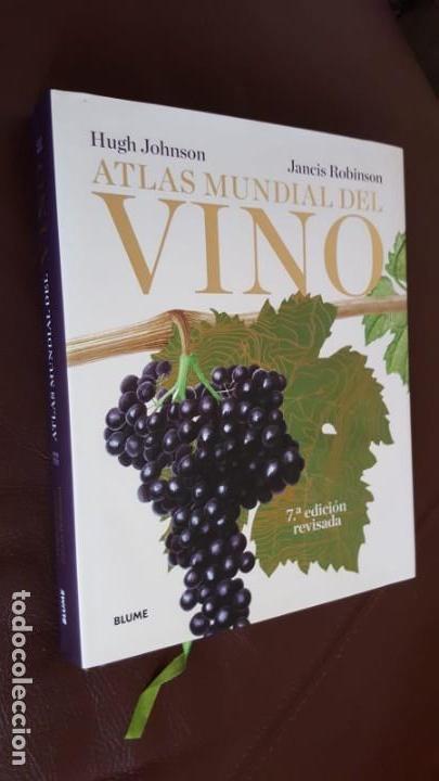 ATLAS MUNDIAL DEL VINO - HUGH J0HNSON Y JANCIS ROBINSON, 7ª EDICIÓN ACTUALIZADA- VER DESCRIPCIÓN (Libros Nuevos - Ocio - Vinos)