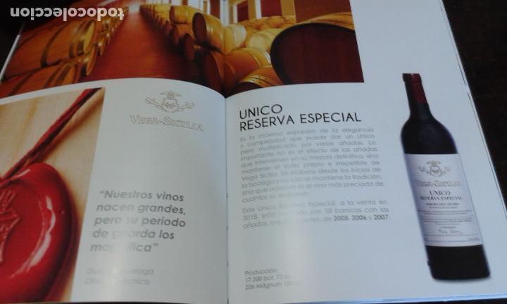 Libros: CATALOGO DE VINOS VEGA SICILIA (AÑO 2018) - Foto 3 - 263132270
