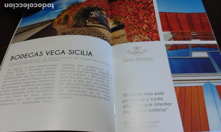 Libros: CATALOGO DE VINOS VEGA SICILIA (AÑO 2018) - Foto 4 - 263132270
