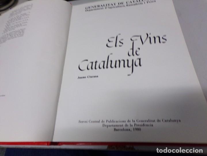 Libros: Els Vins De Catalunya; Jaume Ciurana - Generalitat De Catalunya 1980 - Foto 2 - 173664767