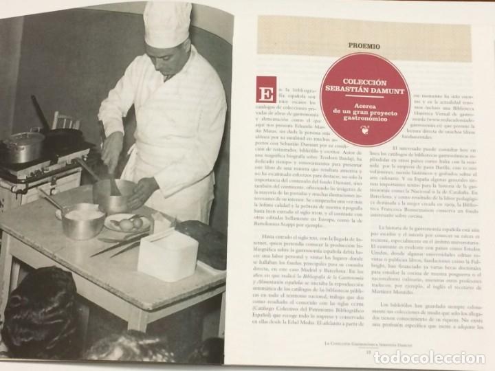 Libros: AÑO 2019 - EDUARDO MARTÍN MAZAS- La colección gastronómica de Sebastián Damunt - BIBLIOGRAFÍA VINOS - Foto 2 - 213001880