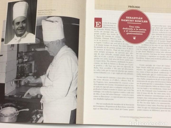 Libros: AÑO 2019 - EDUARDO MARTÍN MAZAS- La colección gastronómica de Sebastián Damunt - BIBLIOGRAFÍA VINOS - Foto 3 - 196445051