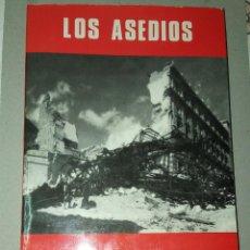 Libri: LOS ASEDIOS. SERVICIO HISTÓRICO MILITAR. MONOGRAFÍAS DE LA GUERRA DE ESPAÑA, Nº 16. Lote 185756675