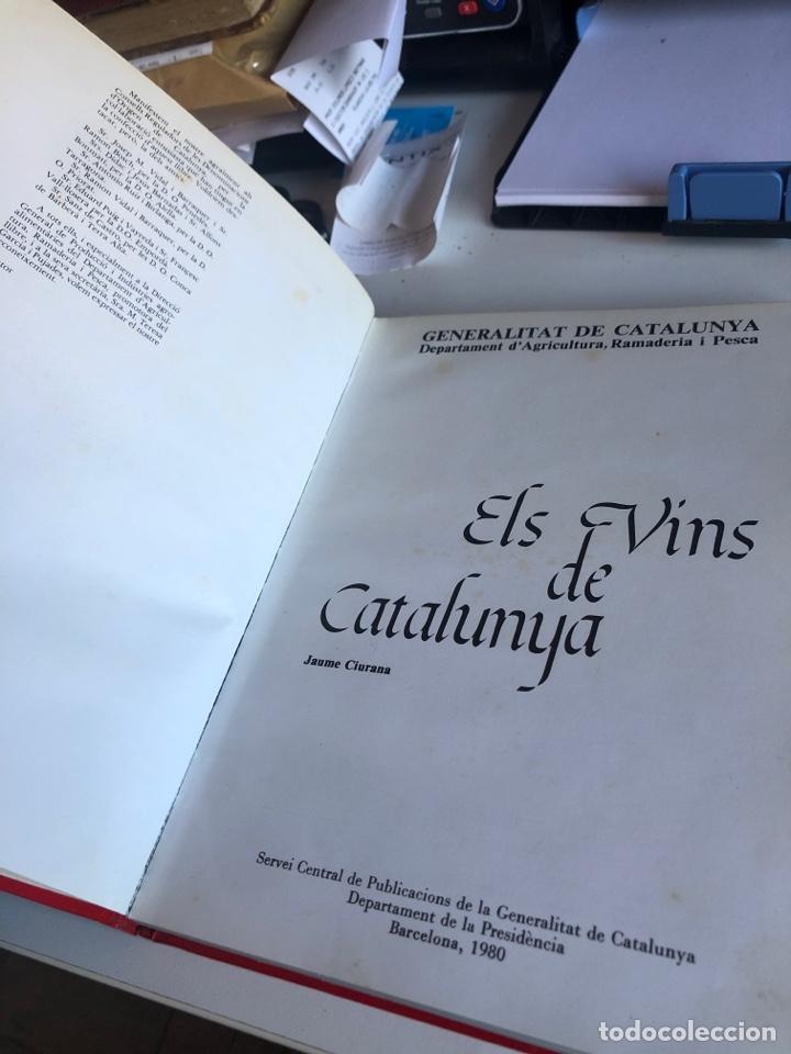 Libros: Els vins de catalunya - Foto 2 - 190500577
