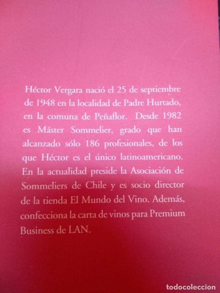 Libros: Descorchando mi vida: 30 años de Máster Sommelier / Héctor Vergara - Foto 3 - 196238645
