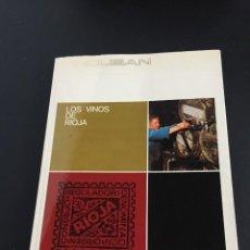 Libros: LOS VINOS DE RIOJA - M. LLANO GOROSTIZA - EDITA INDUBAN - ENOLOGIA. Lote 204719232