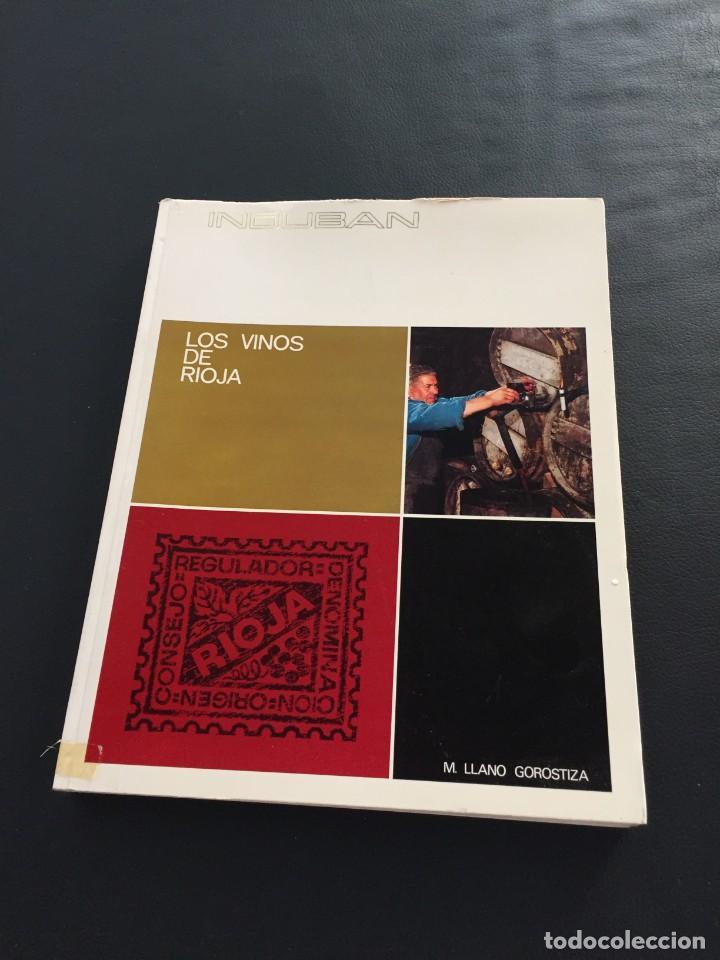 LOS VINOS DE RIOJA - M. LLANO GOROSTIZA (Libros Nuevos - Ocio - Vinos)
