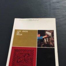 Libros: LOS VINOS DE RIOJA - M. LLANO GOROSTIZA. Lote 205074623