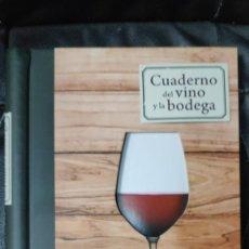 Libros: CUADERNO DEL VINO Y LA BODEGA ( LAROUSSE ). Lote 210734704