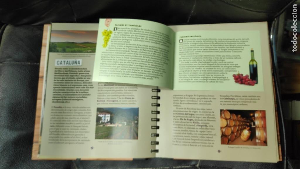 Libros: CUADERNO DEL VINO Y LA BODEGA ( LAROUSSE ) - Foto 5 - 210734704