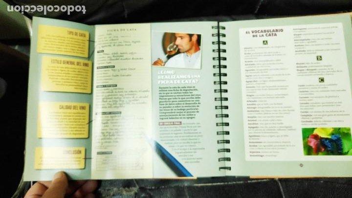 Libros: CUADERNO DEL VINO Y LA BODEGA ( LAROUSSE ) - Foto 9 - 210734704