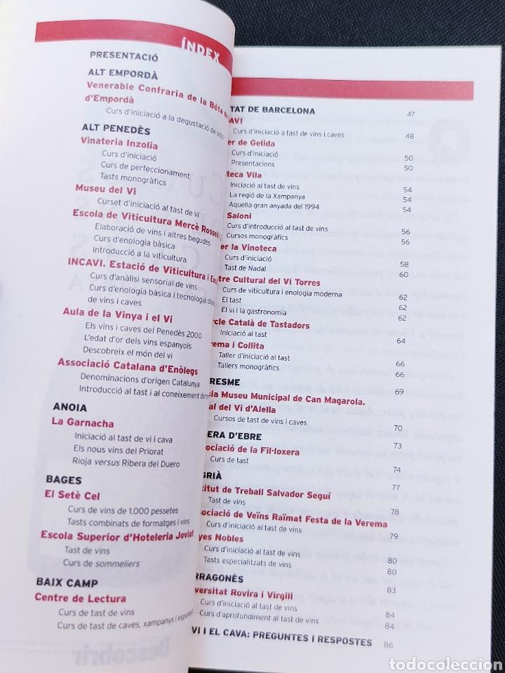 Libros: 25 Cursos de vins i caves a Catalunya Descobrir Incavi 2000 - Foto 2 - 213204407