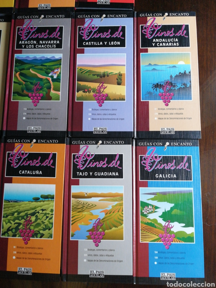 Libros: Colección 11 libros Vinos - Foto 2 - 217925618