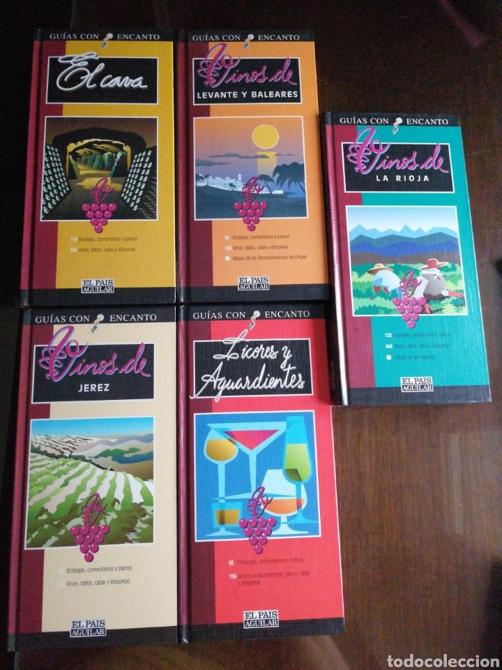Libros: Colección 11 libros Vinos - Foto 3 - 217925618