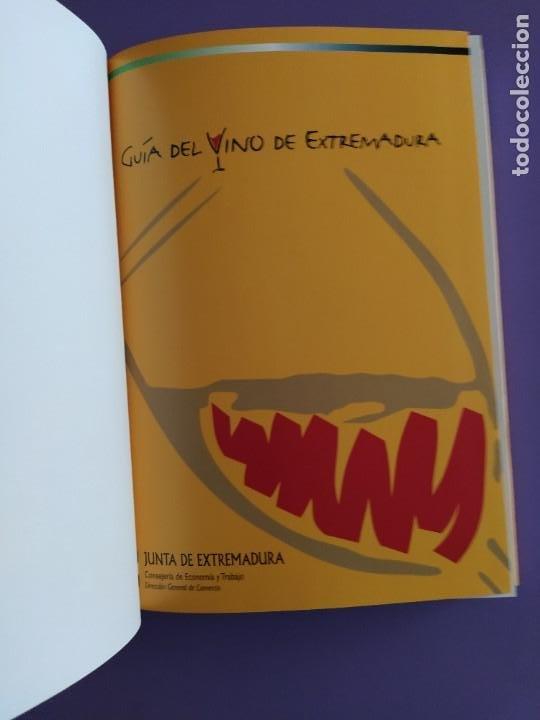 Libros: GUIA DEL VINO DE EXTREMADURA. 343 PAGINAS. CON ILUSTRACIONES. 2004. - Foto 4 - 222166482