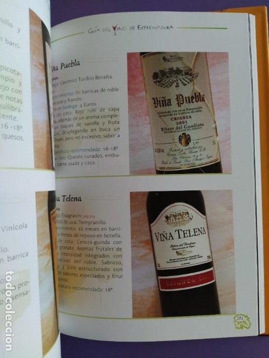 Libros: GUIA DEL VINO DE EXTREMADURA. 343 PAGINAS. CON ILUSTRACIONES. 2004. - Foto 9 - 222166482