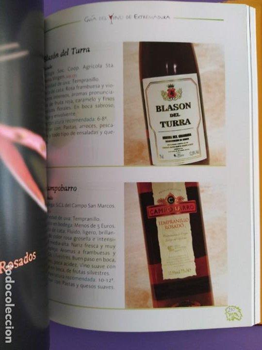 Libros: GUIA DEL VINO DE EXTREMADURA. 343 PAGINAS. CON ILUSTRACIONES. 2004. - Foto 10 - 222166482