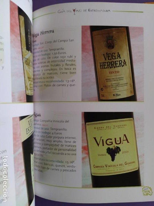 Libros: GUIA DEL VINO DE EXTREMADURA. 343 PAGINAS. CON ILUSTRACIONES. 2004. - Foto 12 - 222166482