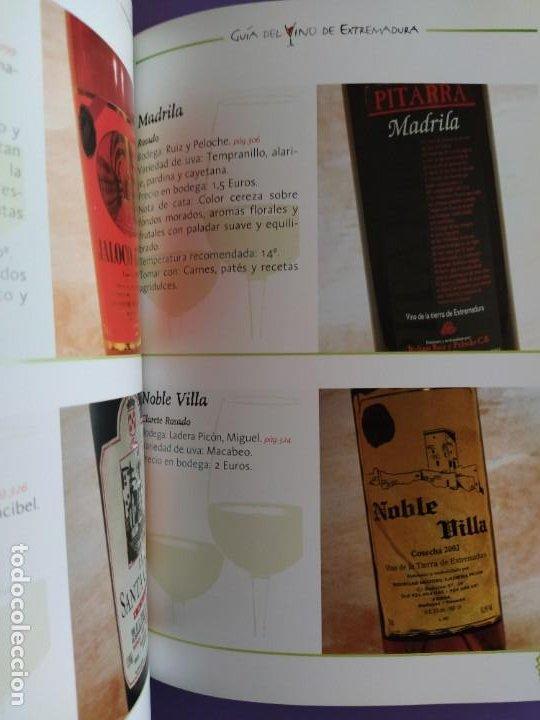 Libros: GUIA DEL VINO DE EXTREMADURA. 343 PAGINAS. CON ILUSTRACIONES. 2004. - Foto 14 - 222166482