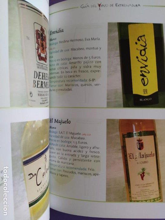 Libros: GUIA DEL VINO DE EXTREMADURA. 343 PAGINAS. CON ILUSTRACIONES. 2004. - Foto 16 - 222166482