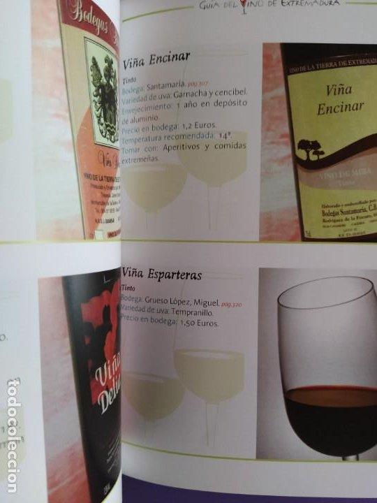 Libros: GUIA DEL VINO DE EXTREMADURA. 343 PAGINAS. CON ILUSTRACIONES. 2004. - Foto 17 - 222166482