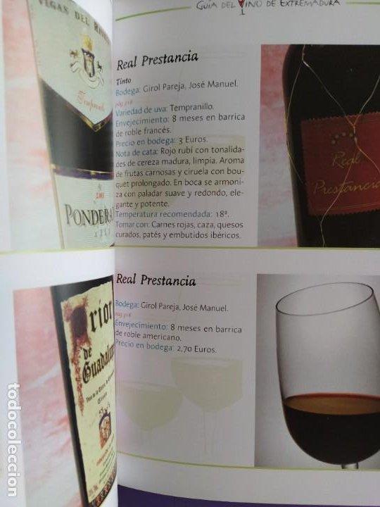Libros: GUIA DEL VINO DE EXTREMADURA. 343 PAGINAS. CON ILUSTRACIONES. 2004. - Foto 18 - 222166482