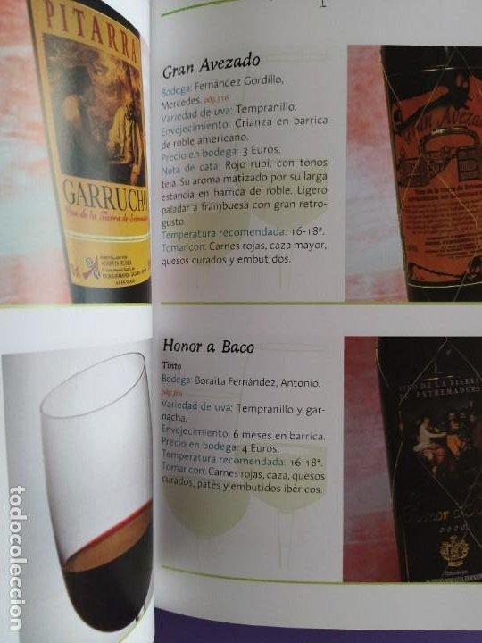 Libros: GUIA DEL VINO DE EXTREMADURA. 343 PAGINAS. CON ILUSTRACIONES. 2004. - Foto 19 - 222166482