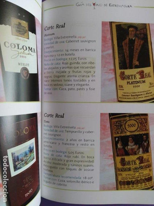 Libros: GUIA DEL VINO DE EXTREMADURA. 343 PAGINAS. CON ILUSTRACIONES. 2004. - Foto 20 - 222166482