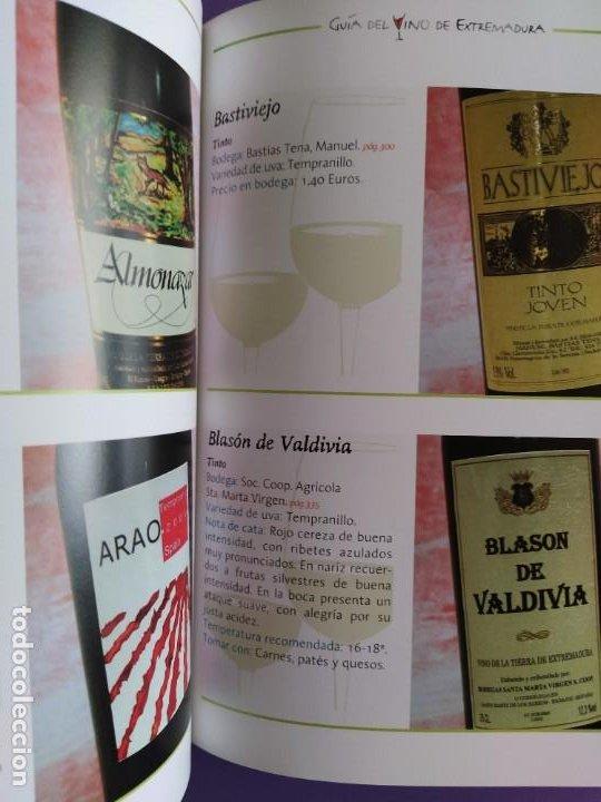 Libros: GUIA DEL VINO DE EXTREMADURA. 343 PAGINAS. CON ILUSTRACIONES. 2004. - Foto 21 - 222166482