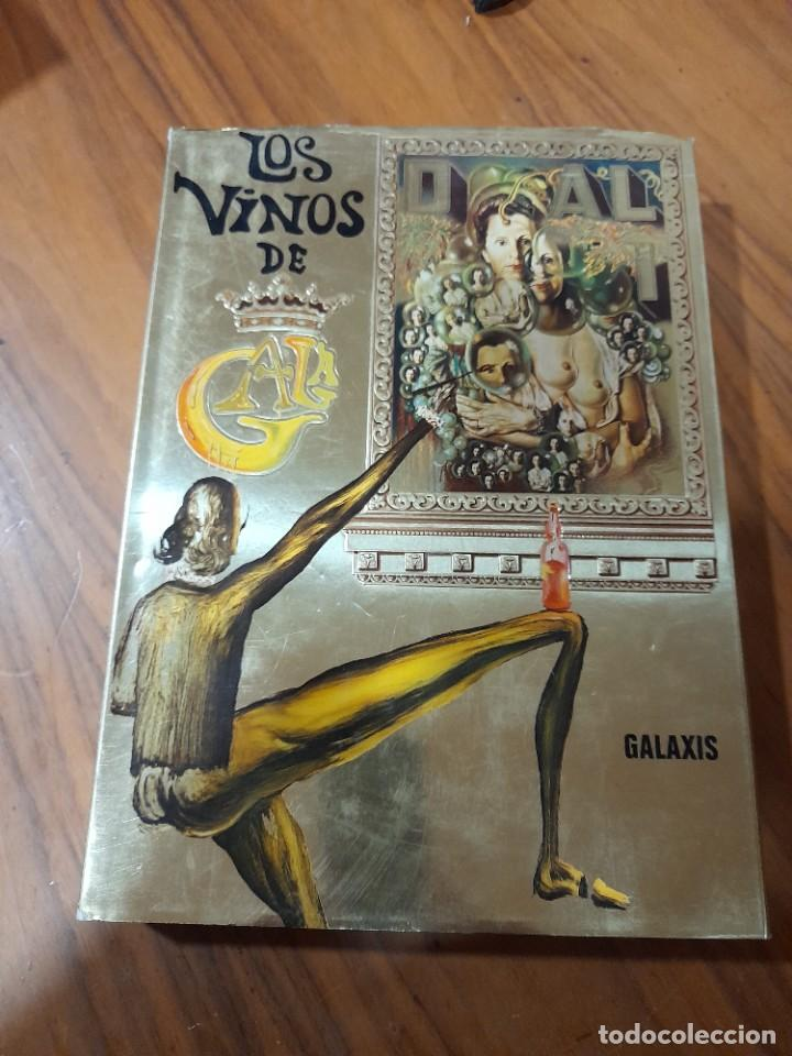 LOS VINOS DE GALA POR SALVADOR DALI. PARIS 1977 (Libros Nuevos - Ocio - Vinos)