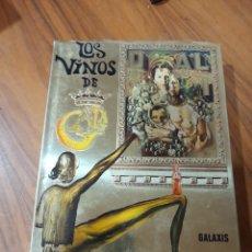 Livros: LOS VINOS DE GALA POR SALVADOR DALI. PARIS 1977. Lote 225060495