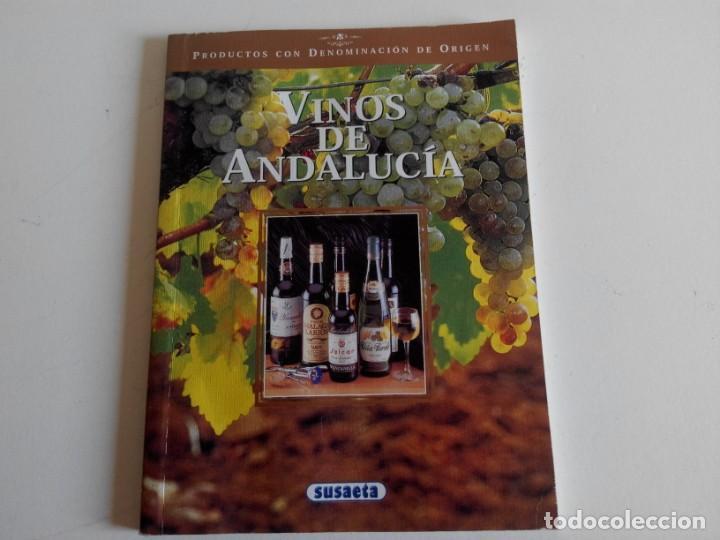VINOS DE ANDALUCÍA. EDICIONES SUSAETA (Libros Nuevos - Ocio - Vinos)