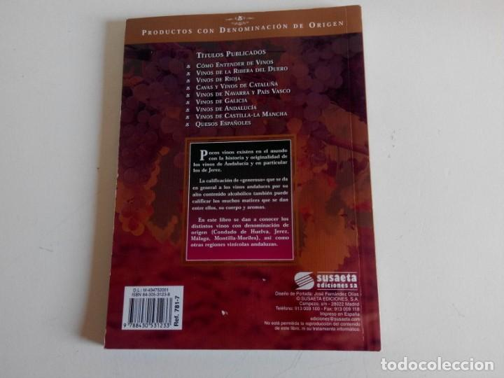 Libros: Vinos de Andalucía. Ediciones Susaeta - Foto 2 - 226358625