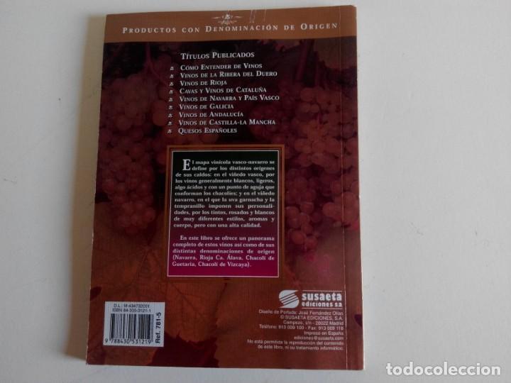 Libros: Vinos de Navarra y País Vasco. Ediciones Susaeta - Foto 2 - 226359441