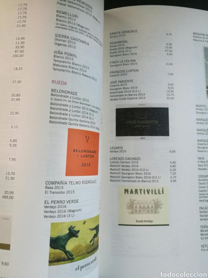 Libros: Guía catálogo vinos 2016-2017 limitada portada exclusiva Francisco Ibáñez (Mortadelo ,13 Rue Percebe - Foto 5 - 230443215